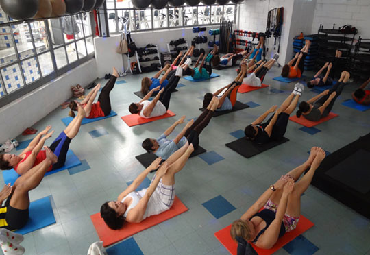 Pilates de Solo / Power Yoga